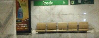 Metro Rossio [VD] is one of Lx museus e jardins gratis.