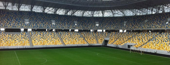 Арена Львів is one of Soccer Stadiums.