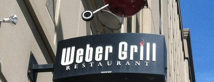 Weber Grill Restaurant is one of Chicago Bucketlist.