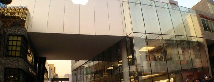 Apple Sanlitun is one of Posti che sono piaciuti a Seba.