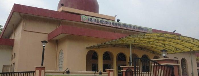 Masjid Kampung Gemuruh is one of masjid.