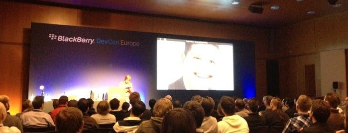 BlackBerry DevCon Europe at the Amsterdam RAI Convention Centre is one of tmp.