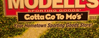 Modell's Sporting Goods is one of BF.
