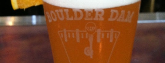Boulder Dam Brewing Co. is one of Las Vegas.