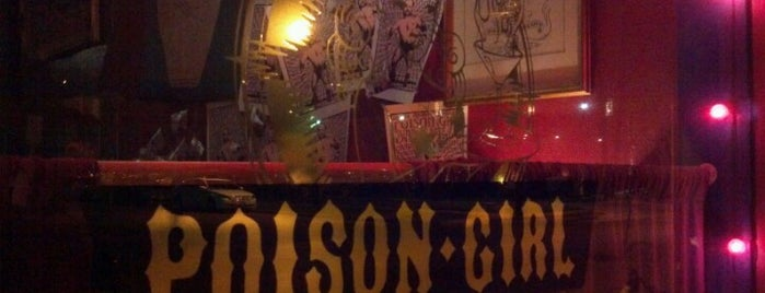 Poison Girl is one of Fav Houston places.