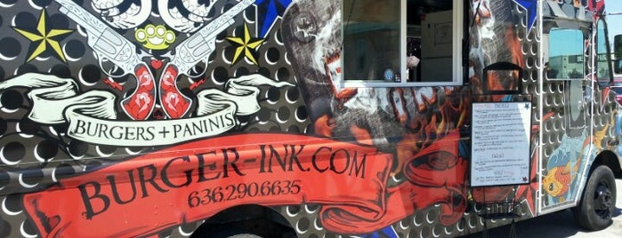 Burger Ink is one of STL Food Trucks.