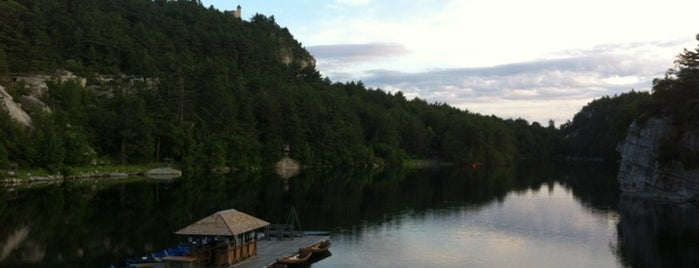 Mohonk Lake is one of Woodstock, NY.