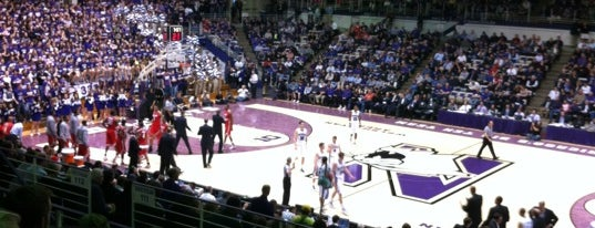 Welsh-Ryan Arena is one of Big Ten Men's Basketball Arenas.