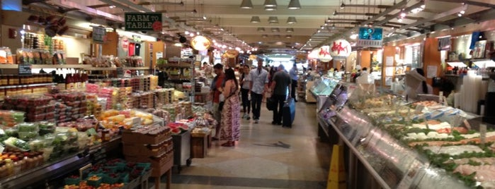 Grand Central Market is one of Pretend I'm a tourist...NYC.