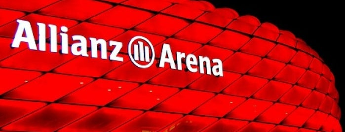 Allianz Arena is one of I Love Munich!.