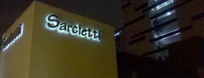 Sarcletti is one of Tempat yang Disukai Percy.