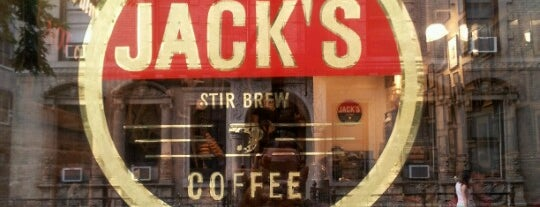 Jack's Stir Brew Coffee is one of New York's Best Coffee Shops - Manhattan.