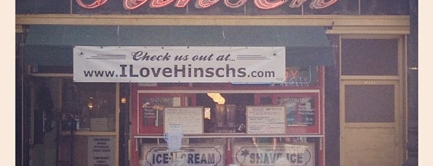 Hinsch's Luncheonette is one of NY Region Old-Timey Bars, Cafes, and Restaurants.