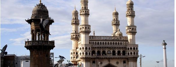 Charminar is one of Go Ahead, Be A Tourist.