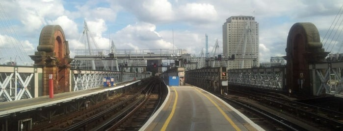 Charing Cross Railway Station (CHX) is one of You calling me a train spotter?.