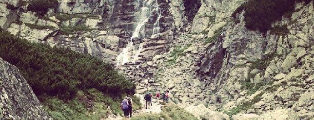 Vodopád Skok is one of Turistické body v TANAP-e.