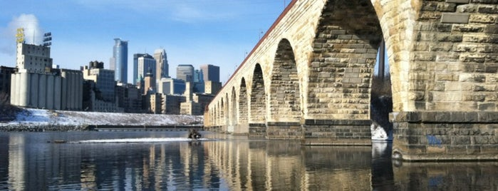 Stone Arch Bridge is one of A Weekend Away in Minneapolis.