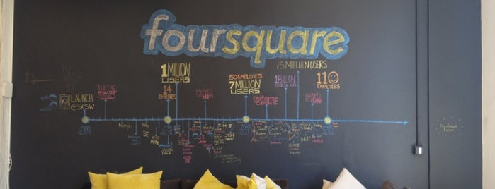 A Foursquare history tour in NYC