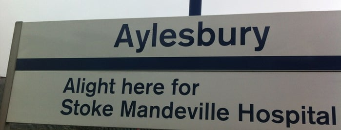 Aylesbury Railway Station (AYS) is one of Lieux qui ont plu à Carl.