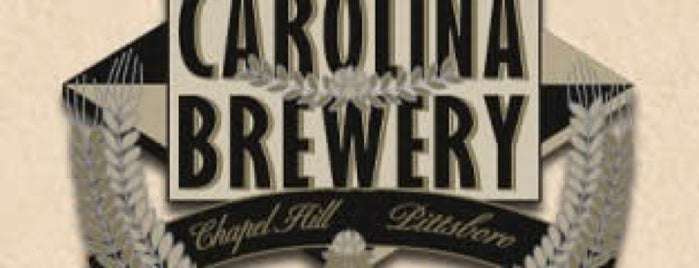 Carolina Brewery is one of Chapel Hill.