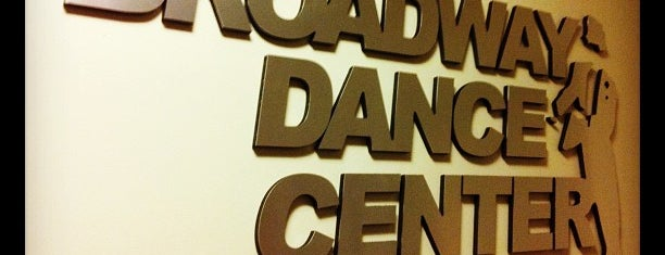 Broadway Dance Center is one of Tempat yang Disimpan Artem.