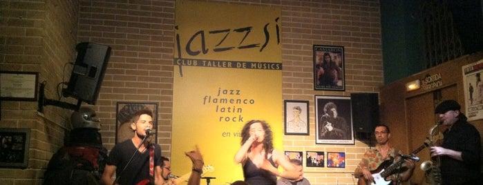 JazzSí Club Taller de Músics is one of Clubs, Vinyl & Live Music.