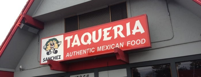 Sanchez Taqueria is one of Lieux qui ont plu à Bekah.