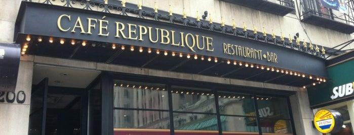 Café République is one of Jesse'nin Beğendiği Mekanlar.