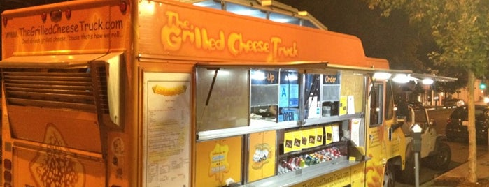 The Grilled Cheese Truck is one of food to try.