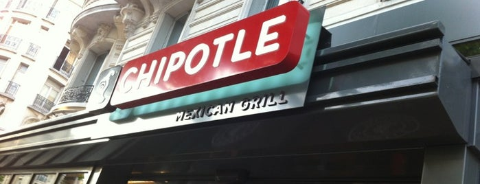Chipotle Mexican Grill is one of Liste Paris Salé.