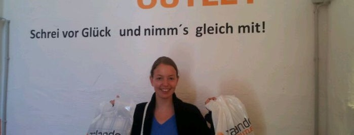 Zalando Outlet is one of Berlin, baby!.