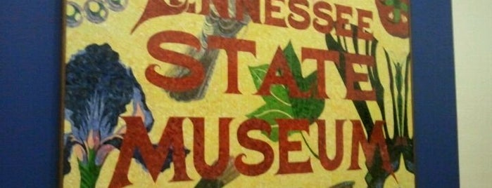 Tennessee State Museum is one of Nashville, TN.