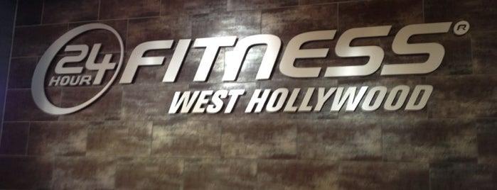 24 Hour Fitness is one of Alex : понравившиеся места.