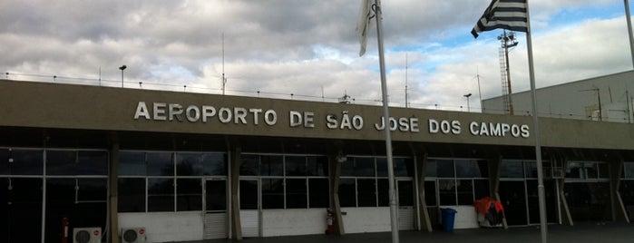 Aeroporto de São José dos Campos (SJK) is one of Aeroportos.
