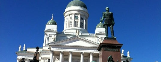 Senatsplatz is one of helsinki.