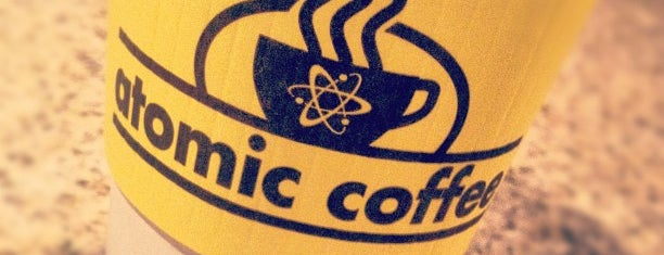 Atomic Coffee is one of Tally spots.