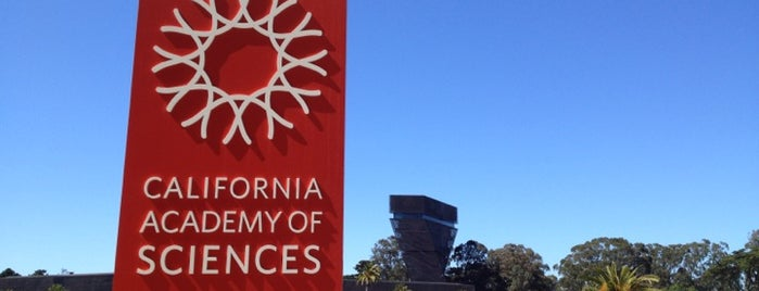 California Academy of Sciences is one of San Francisco, CA Spots.
