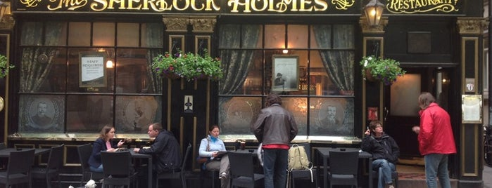 The Sherlock Holmes is one of London to-do.