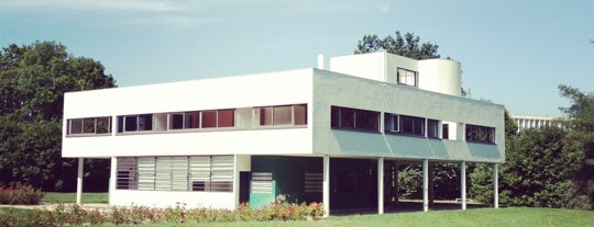 Villa Savoye is one of Architecture.