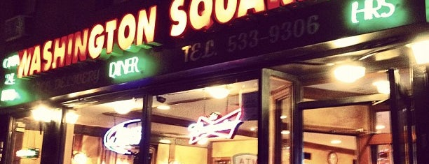 Washington Square Diner is one of Foodie NYC.