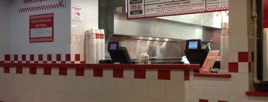 Five Guys is one of Agent Reboot Washington DC.