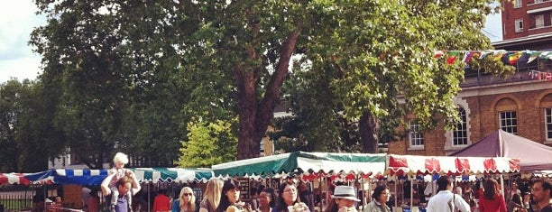 Saturday Farmers' Market is one of London favourites.