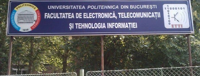 Facultatea de Electronică, Telecomunicații și Tehnologia Informației is one of สถานที่ที่ Anastasia ถูกใจ.