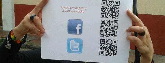 Fundacion Gilberto Alzate Avendaño is one of Aquí Se debería Poder Rayar las Paredes.