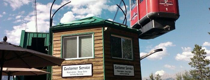Jasper Tramway is one of สถานที่ที่บันทึกไว้ของ Heloisa.