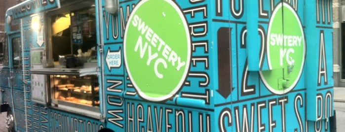 Sweetery NYC is one of NYC Food on Wheels.