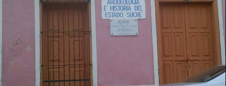 Museo de Antropología e Historia del Estado Sucre is one of Sitios Históricos y Culturales de Cumaná.