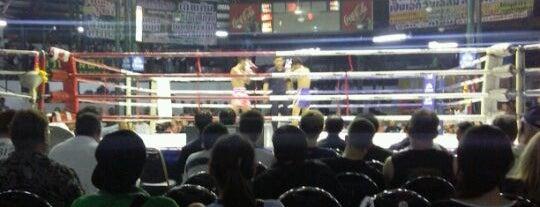 Lumpinee Boxing Stadium is one of Tempat yang Disukai Nils.