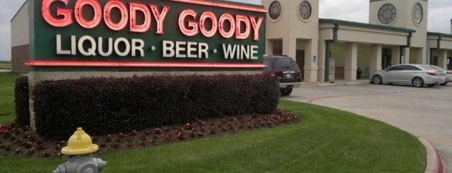 Goody Goody Liquor is one of Bars carrying Leprechaun Ciders: Houston.