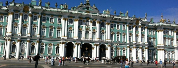 Winter Palace is one of All Museums in S.Petersburg - Все музеи Петербурга.